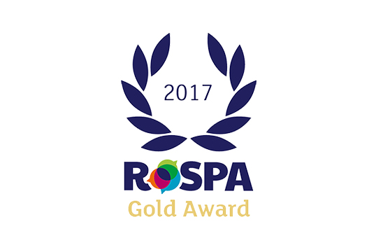 AE Global picks up their 3rd consecutive RoSPA Gold Award