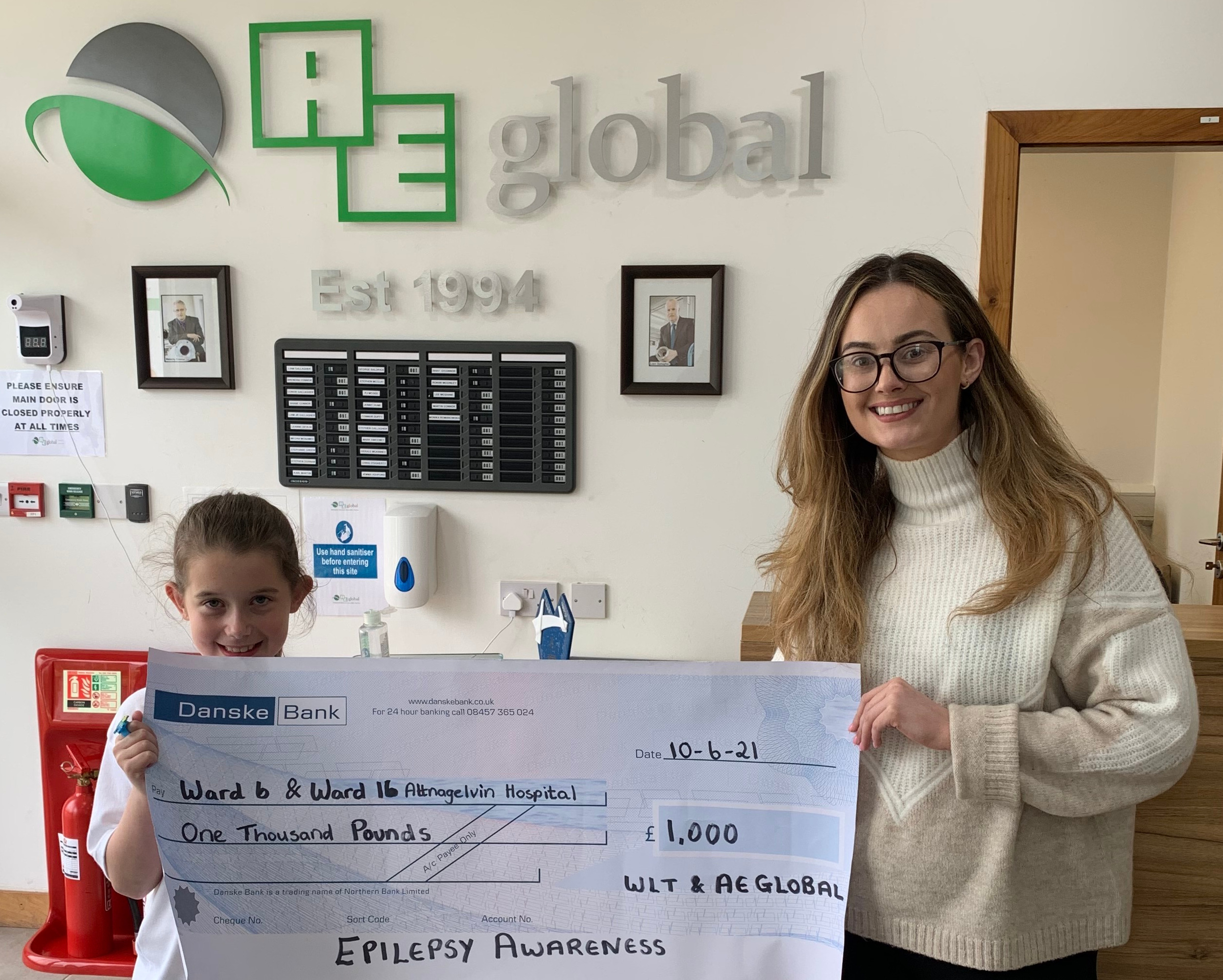 AE Global and WLT Transport supporting Epilepsy Awareness